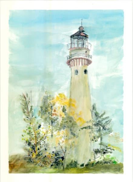 Gross Pointe Lighthouse Art   Howard Lawrence Fine Art