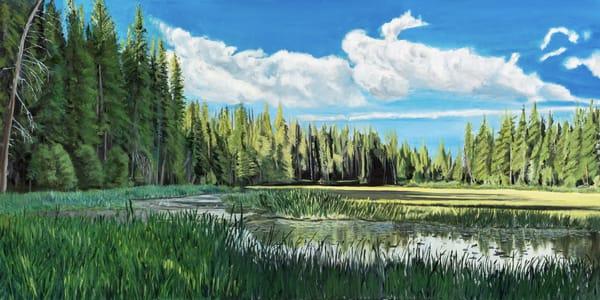 Ponderosa State Park Art   Dave Fox Studios