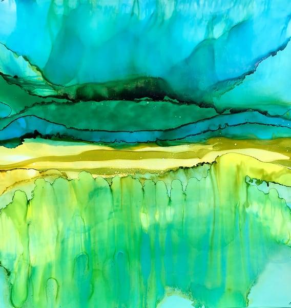 Nightfall At The Dunes, Original Art | Sandy Smith Gerding Artwork