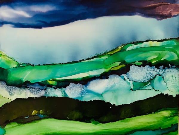 The Invitation, Original Art | Sandy Smith Gerding Artwork