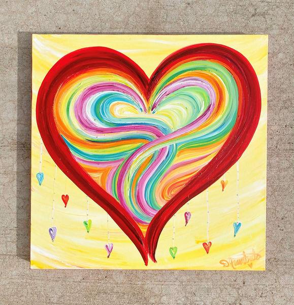 Droplets Of Love Art | Heartworks Studio Inc