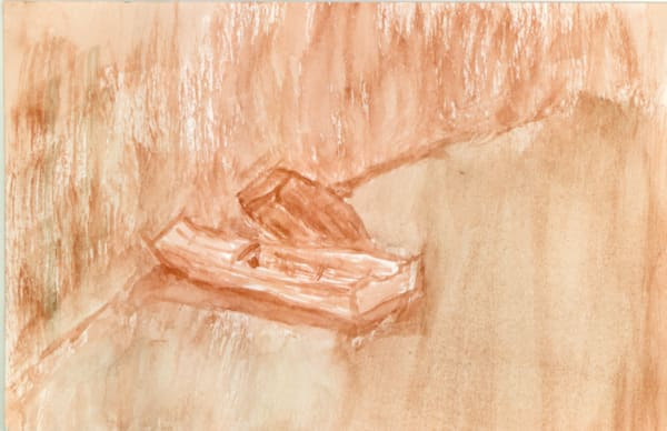 Monet S Boat Hits The Wall Iii Art   Howard Lawrence Fine Art