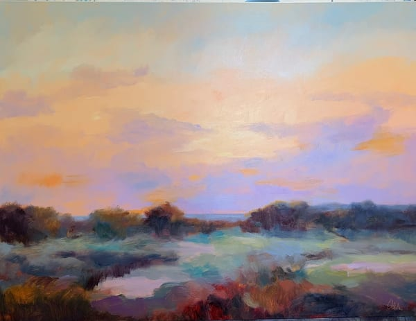 """""""The Bay At A Distance"""" Art 