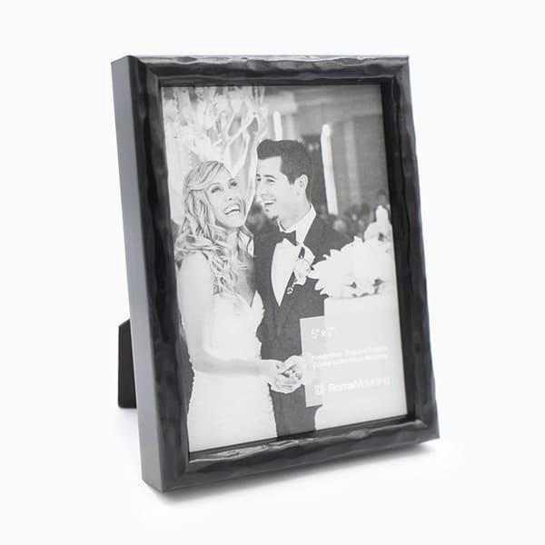 5x7 Carbon Black Photo Frame