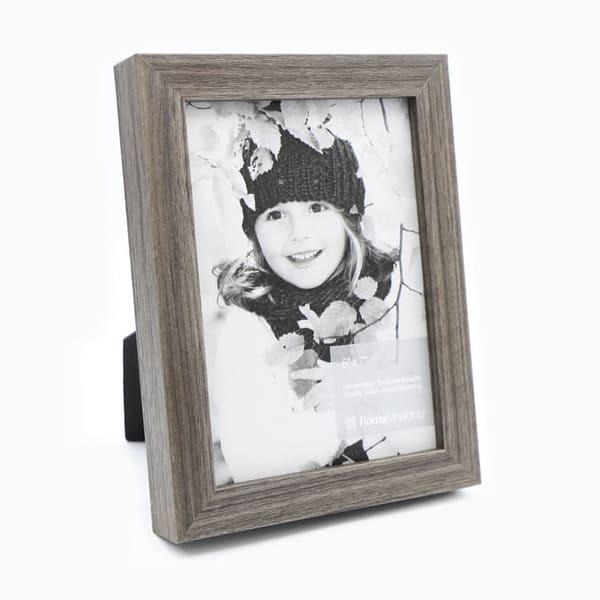 5x7 Flat Grey Oak Photo Frame