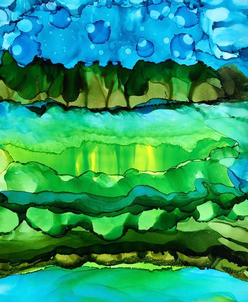 Water Clouds Art | Sandy Smith Gerding Artwork