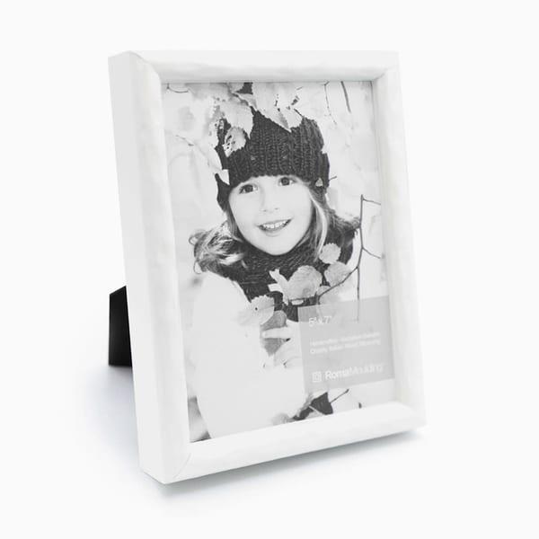 5x7 Urban White Photo Frame