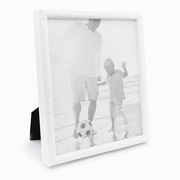 8x10 Urban White Photo Frame