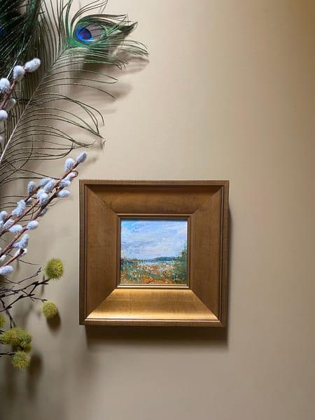 """Field Of Poppies"" Oil Painting Art   Maniscalco Art"