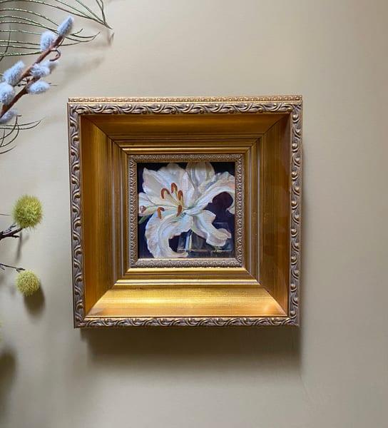 """Lilly"" Oil Painting Art   Maniscalco Art"