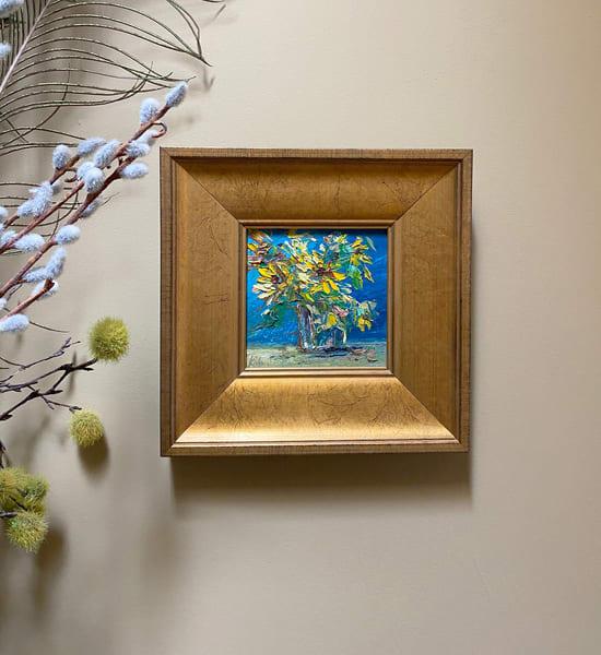 """Sunnies On Blue"" Oil Painting Art   Maniscalco Art"