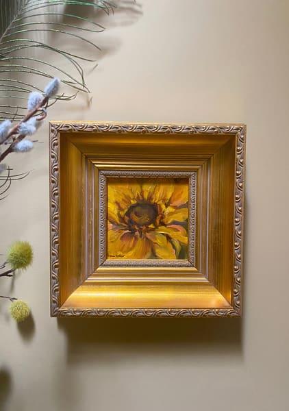 """""""Sunflower"""" Oil Painting Art   Maniscalco Art"""