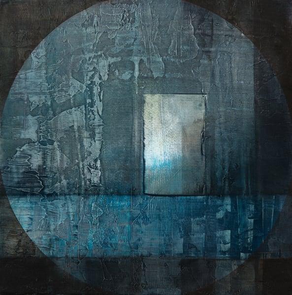 Night Window Art | Ingrid Matthews Art