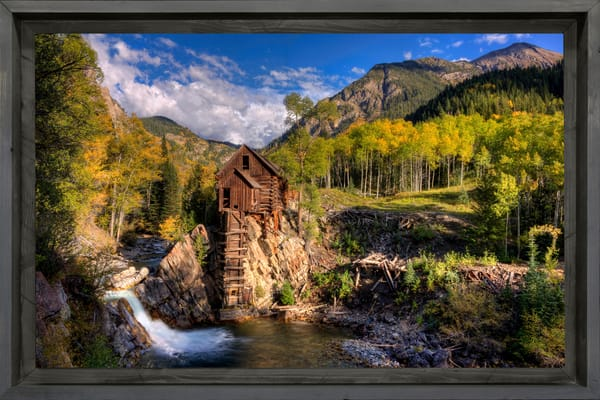 Crystal Mill Photography Art | Ken Smith Gallery
