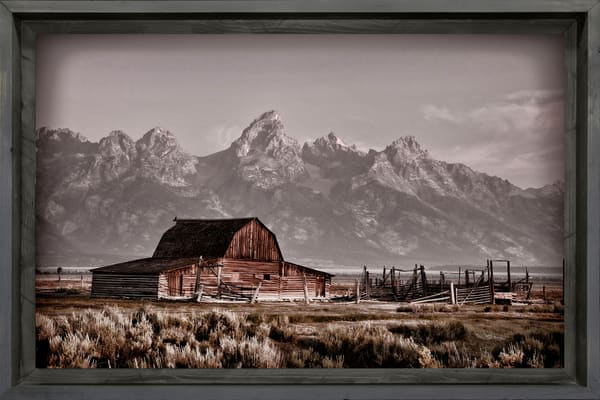 John Moulton Barn And The Grand Tetons Photography Art | Ken Smith Gallery