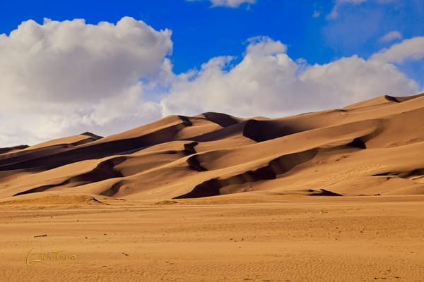 Great Sand Dunes - A Fine Art Photograph by Marcos R. Quintana