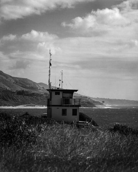 California Landscape Photography - Lifeguard Headquarters