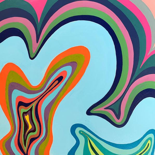 paint, art, wall art, colors, organic