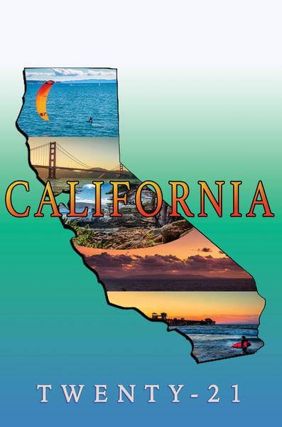 California Twenty 21 Calendar