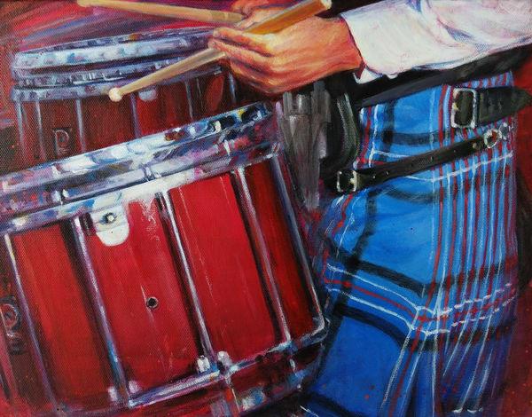 Dunedin Drummer Pipe Band Art