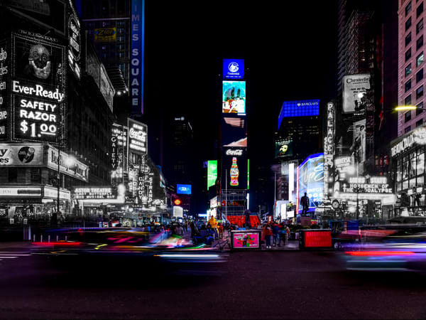 Times Square At Night Art | Mark Hersch Photography
