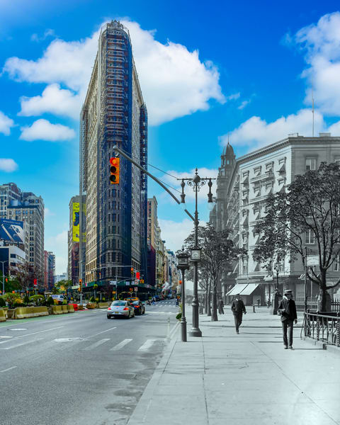 Fifth Avenue And The Flatiron Building Art | Mark Hersch Photography