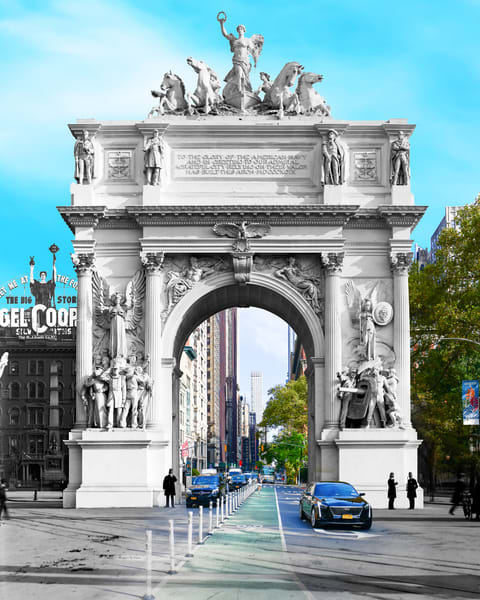 Dewey Arch Art | Mark Hersch Photography