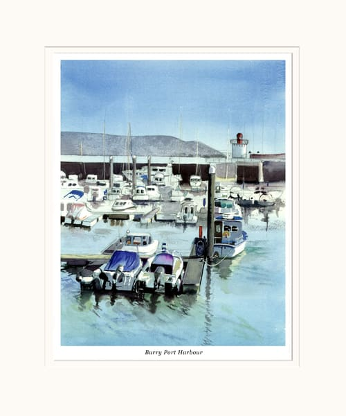 Burry Port Lighthouse Print