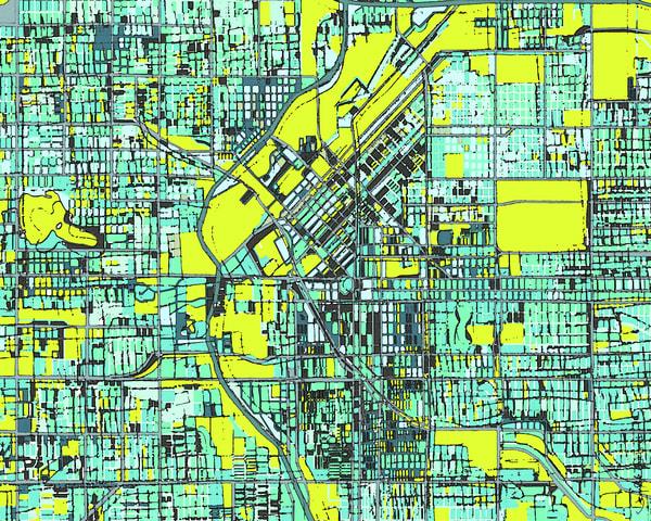 Denver, Co Art | Carland Cartography