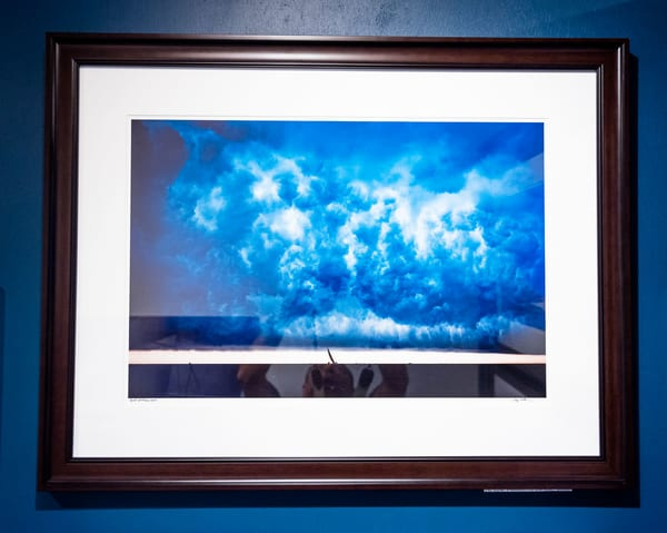 Squall At Race Week 32x24 Frame   Cory Silken Photography