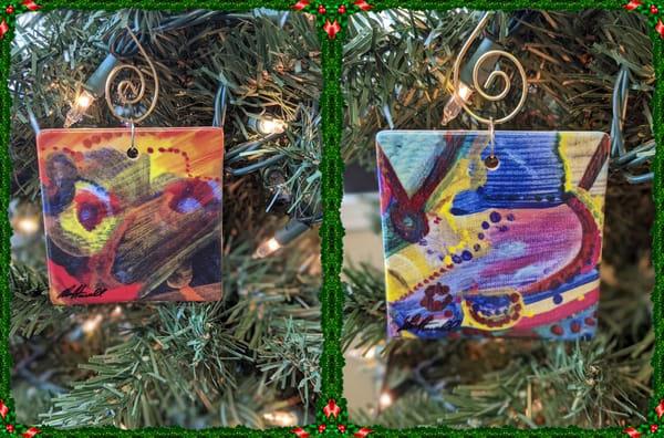 Ceramic Ornament_Scribble 66 + Scribble 23