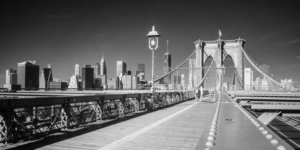 Brooklyn Bridge Nyc Photography Art | The World in Black and White