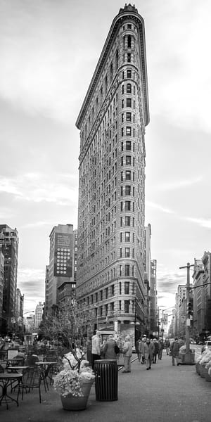 Flatiron Building Nyc Photography Art | The World in Black and White