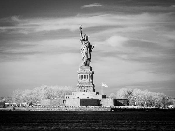 Lady Liberty Nyc Photography Art | The World in Black and White