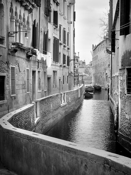 Laundry Day Venice 4 Photography Art | The World in Black and White