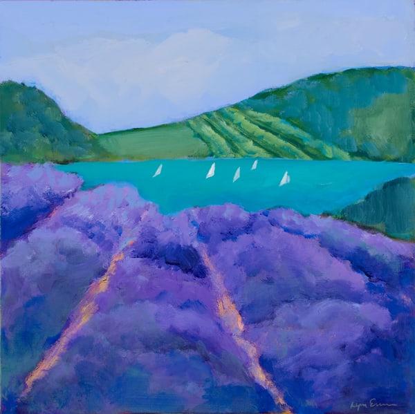 Lavender Lake Art | lynnericson-fine-art.com