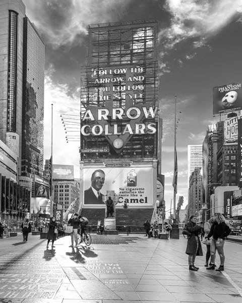 Times Square North From 45th Street Art | Mark Hersch Photography