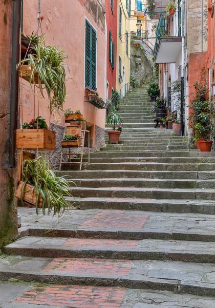 Backstreet Steps Photograph
