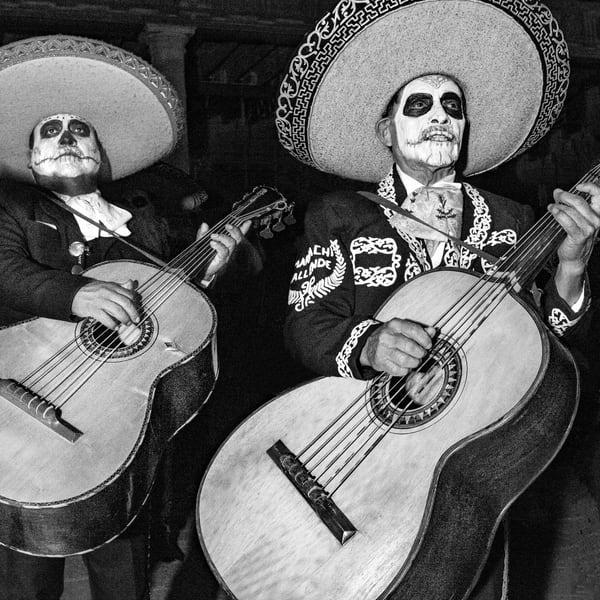 Los Mariachis Muertos Photography Art | Harry John Kerker Photo Artist