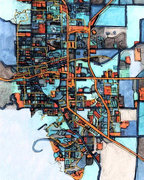 Boulder, Co Art | Carland Cartography