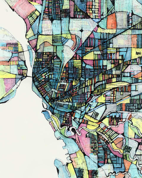 Buffalo, New York Art | Carland Cartography