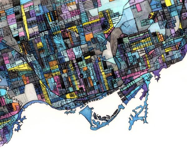 Toronto, Ontario Art | Carland Cartography