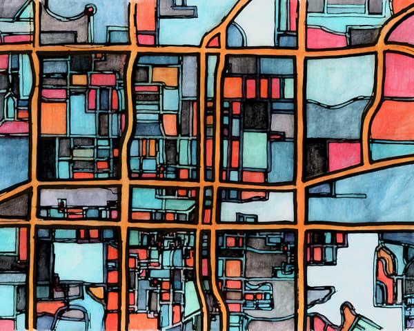 Arlington, Tx (Dallas) Art | Carland Cartography