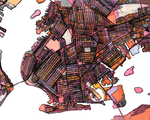 Brooklyn, Nyc Art | Carland Cartography