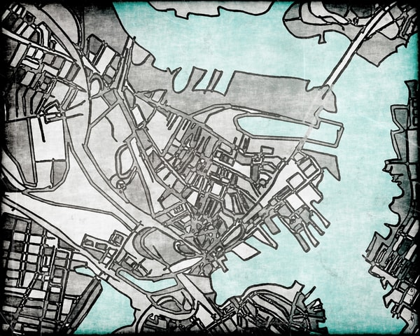 Charlestown, Ma Art | Carland Cartography