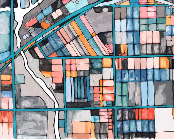 Maps As Art - Chicago Prints. Browse Our Selection of Chicago Art.