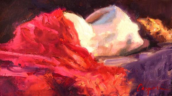 Figure Study In Red Art | robincaspari