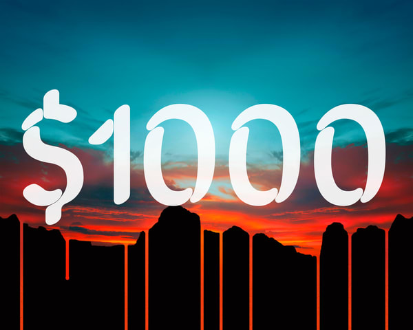 $1000 Gift Card | James Alfred Friesen