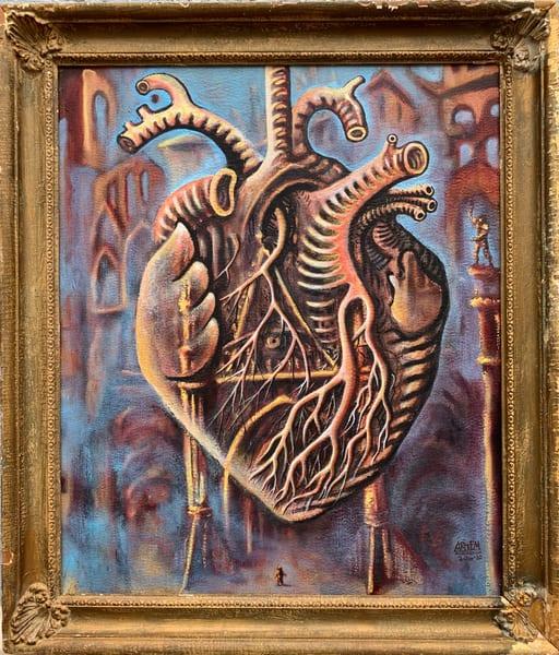 Traveler's Heart Art | artemart