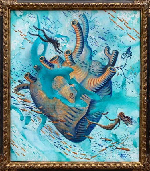 Ocean's Heart  Art | artemart